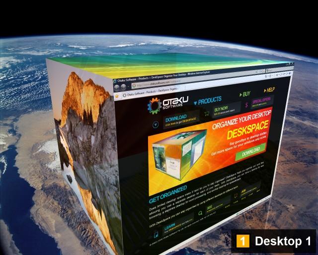 DeskSpace 1.5.6 Preview.