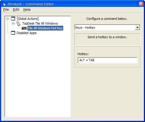 Configure StrokeIt Command