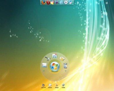 Windows 7 User Interface.